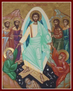 Icon of the Holy Resurrection, by Fr. Nicholas Papas